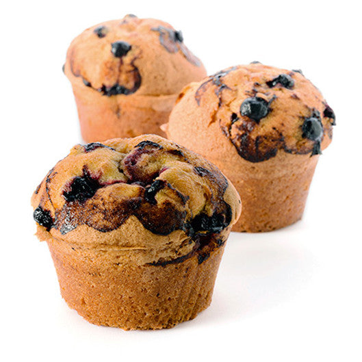 Blackcurrant Jam Muffins