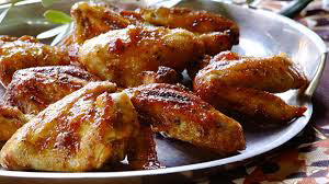 Hot Garlic Coated Chicken Wings Recipe