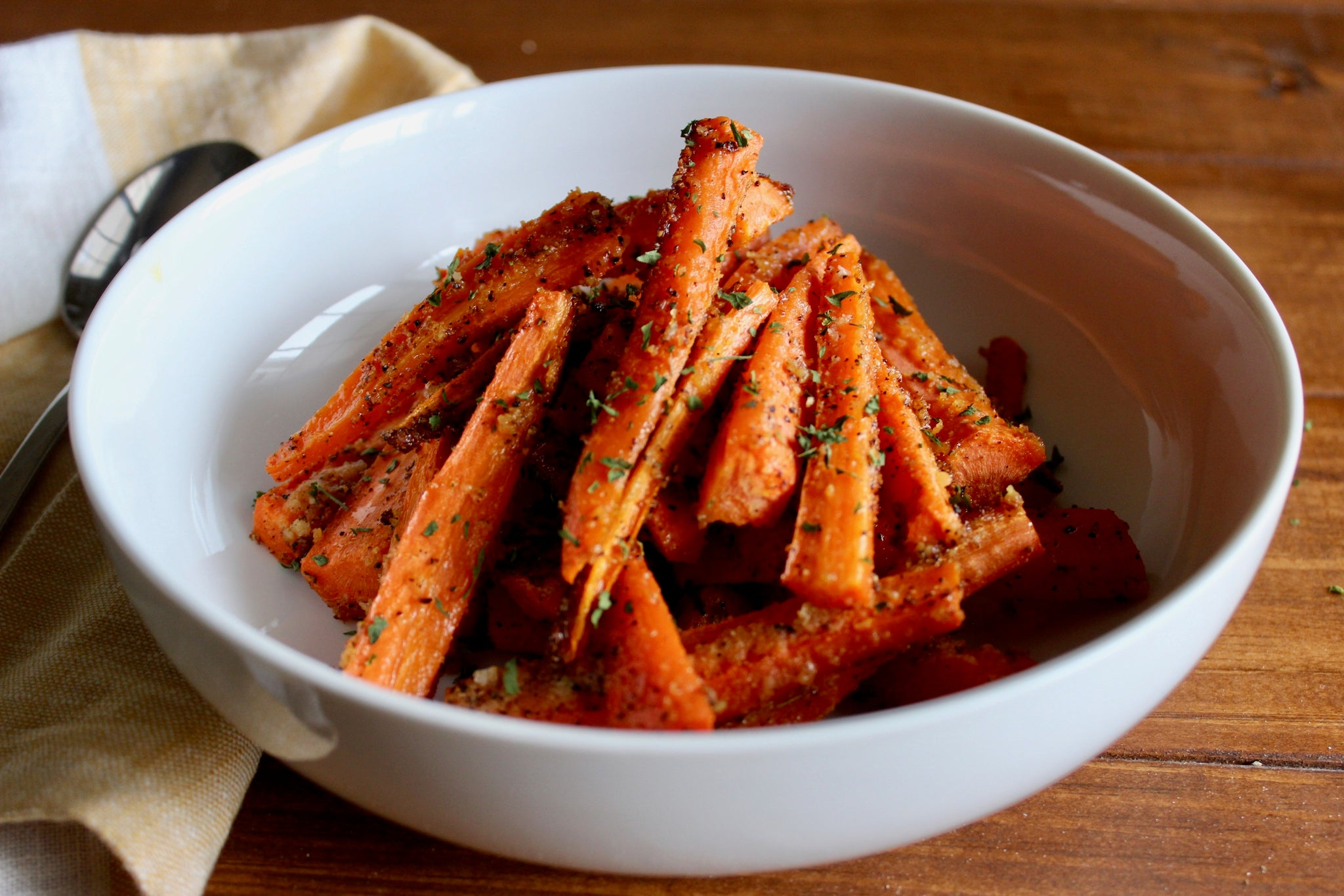 Roasted Sticky Carrots in Hot Garlic Pickle Recipe