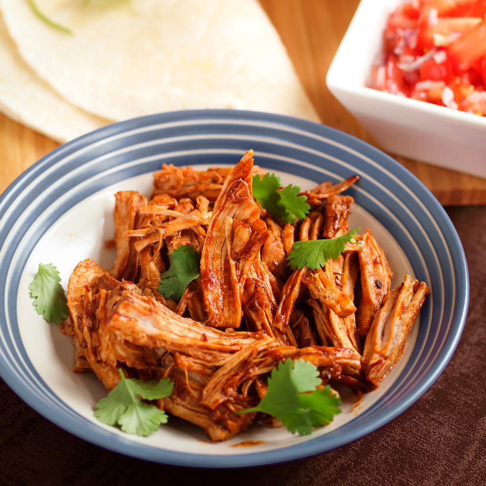 Tropical Fruit Flavoured Pulled Pork