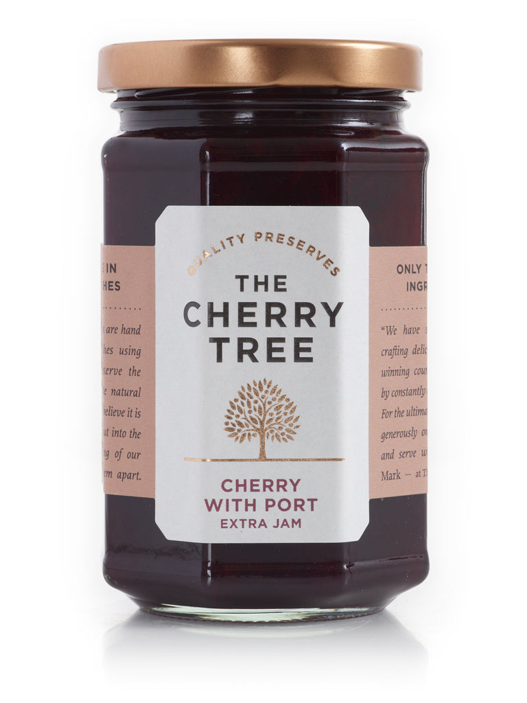 Cherry with Port Extra Jam