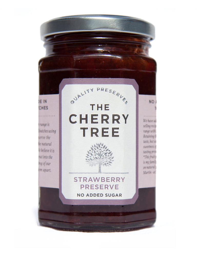 Strawberry Preserve with No Added Sugar
