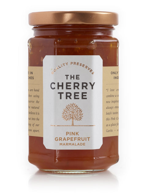 The Cherry Tree Pink Grapefruit Marmalade Jar