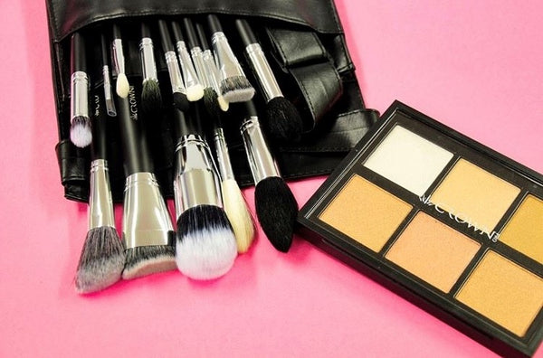 Crown Pro 15 Piece Makeup Brush Set