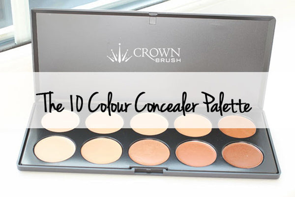 10 Colour Concealer Palette Review & Swatches