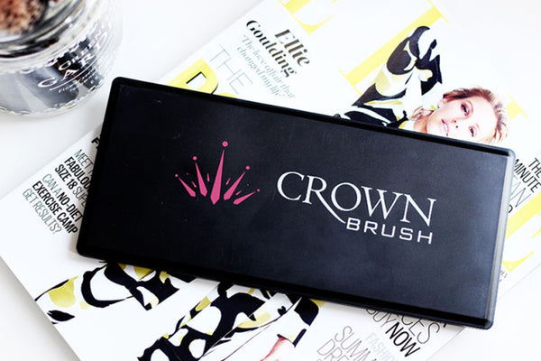 Crownbrush 10 Colour Pressed Powder Contour