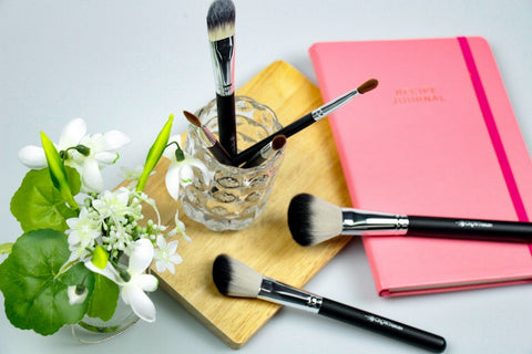 Crownbrush Pro Essentials Makeup Brush Set Brushes