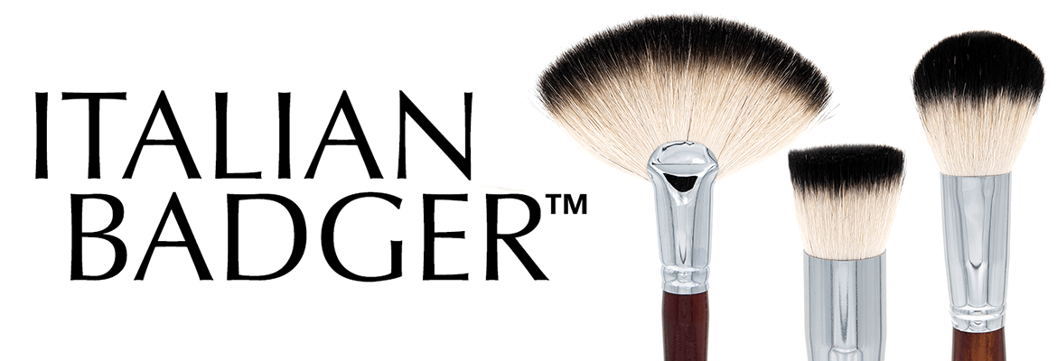 Italian Badger Brush Range Crownbrush