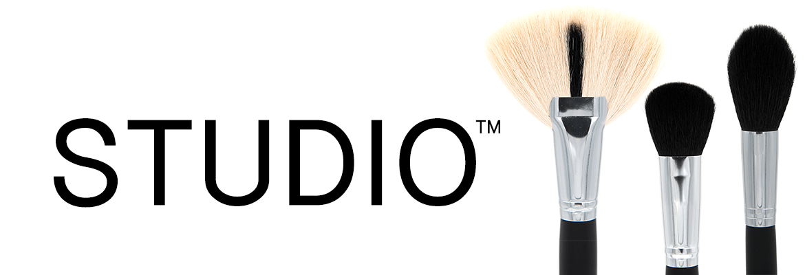 Studio Makeup Brush Range
