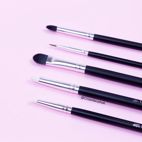 Crown Pro Makeup Brushes all clean
