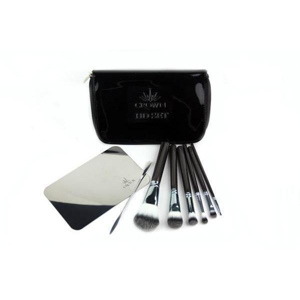 613 7pc HD Makeup Brush Set Crownbrush