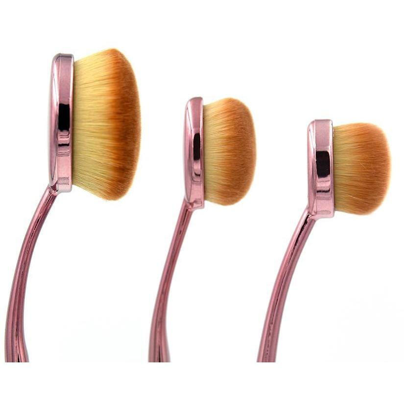 Rose Gold Full Face Contour Set Crownbrush
