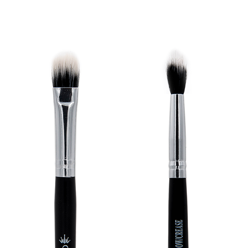 C491 Duo Fibre Shadow/Crease Brush - Crownbrush