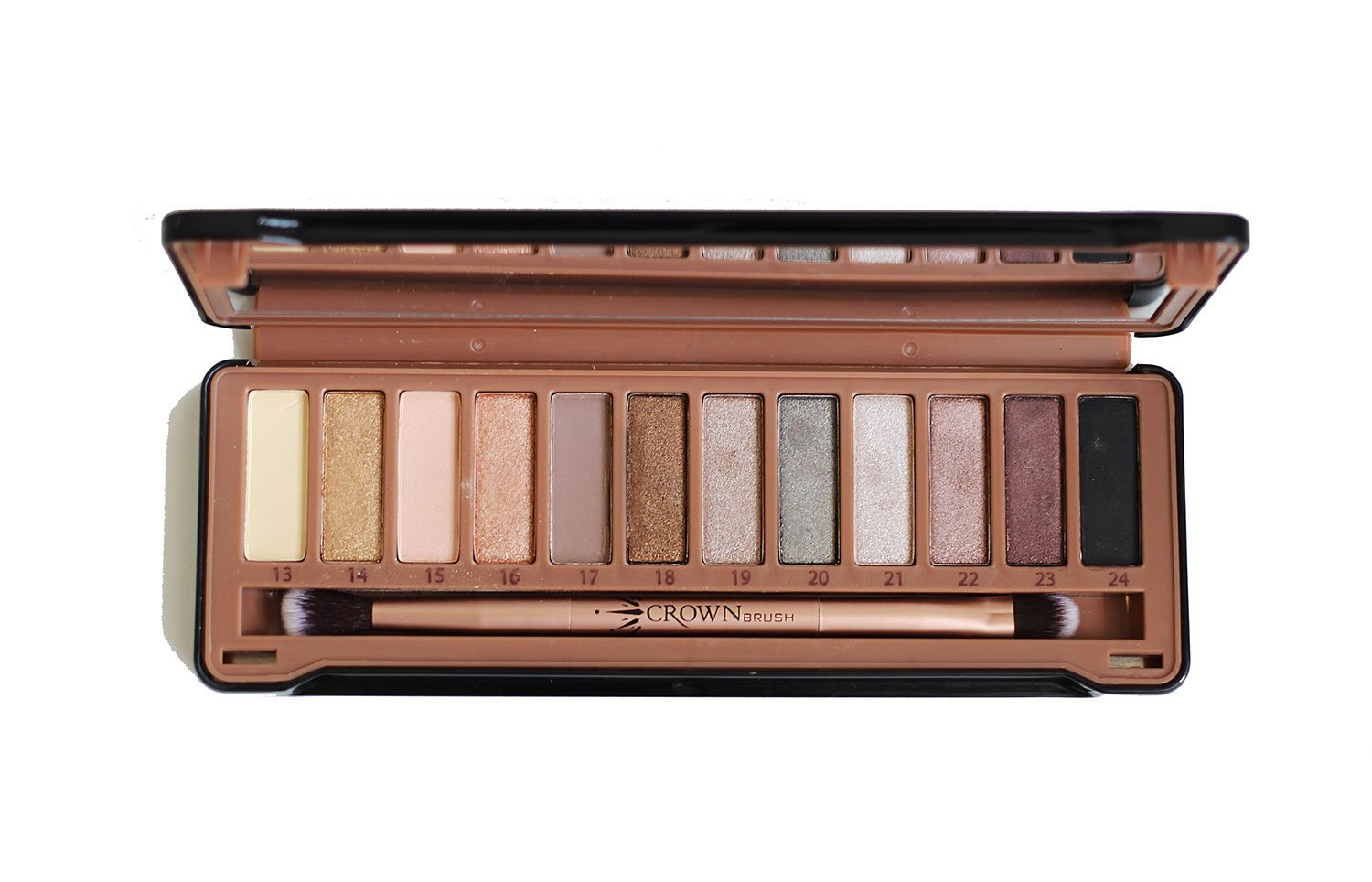Pure Exposed Eyeshadow Palette Crownbrush