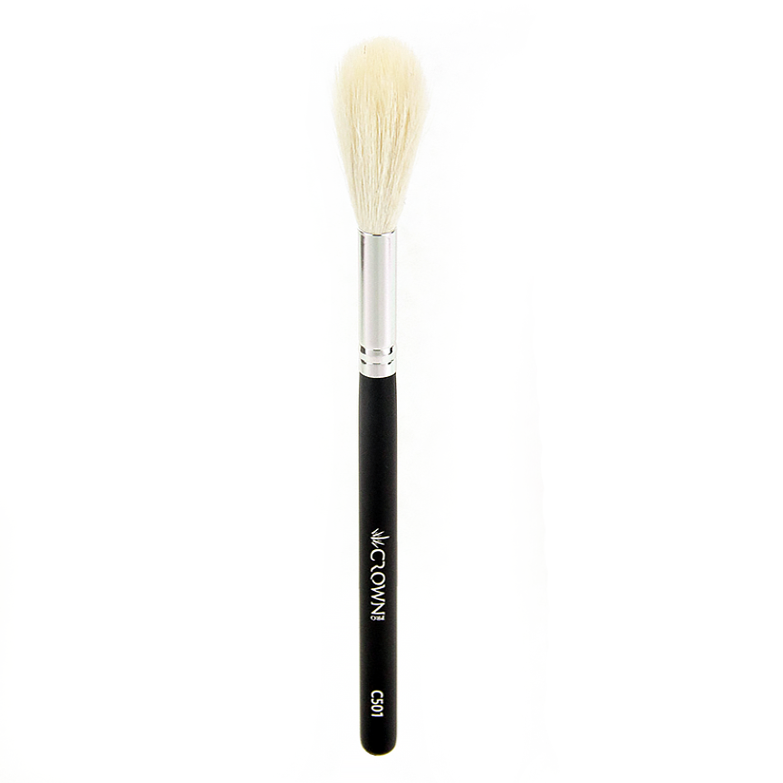 C501 Pro Feather Powder Brush - Crownbrush