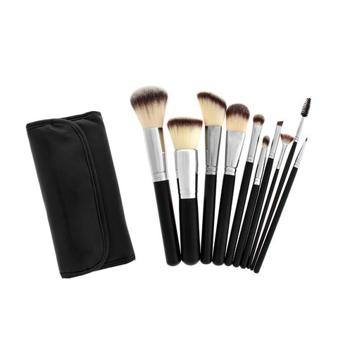 615 White HD Makeup Brush Set