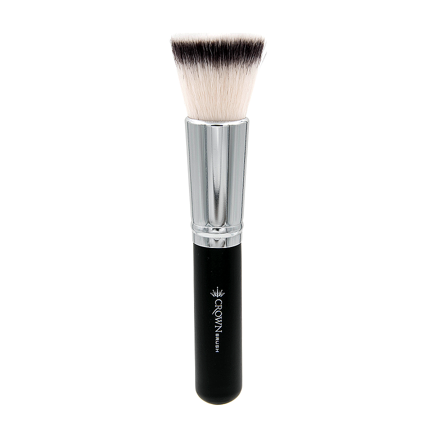 SS014 Deluxe Flat Bronzer Brush - Crownbrush
