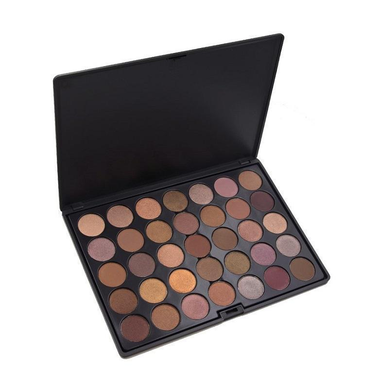 35 Colour Java Eyeshadow Palette Crownbrush