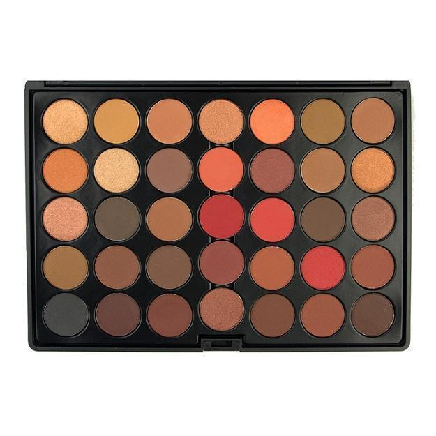 35 Colour Scandalous Eyeshadow Palette - Crownbrush