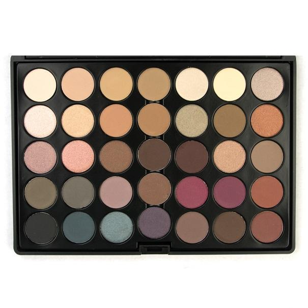 35 Colour Timeless Eyeshadow Palette - Crownbrush
