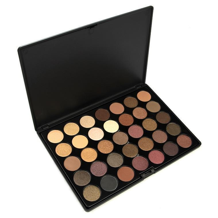 35 Colour Tuscany Eyeshadow Palette - Crownbrush