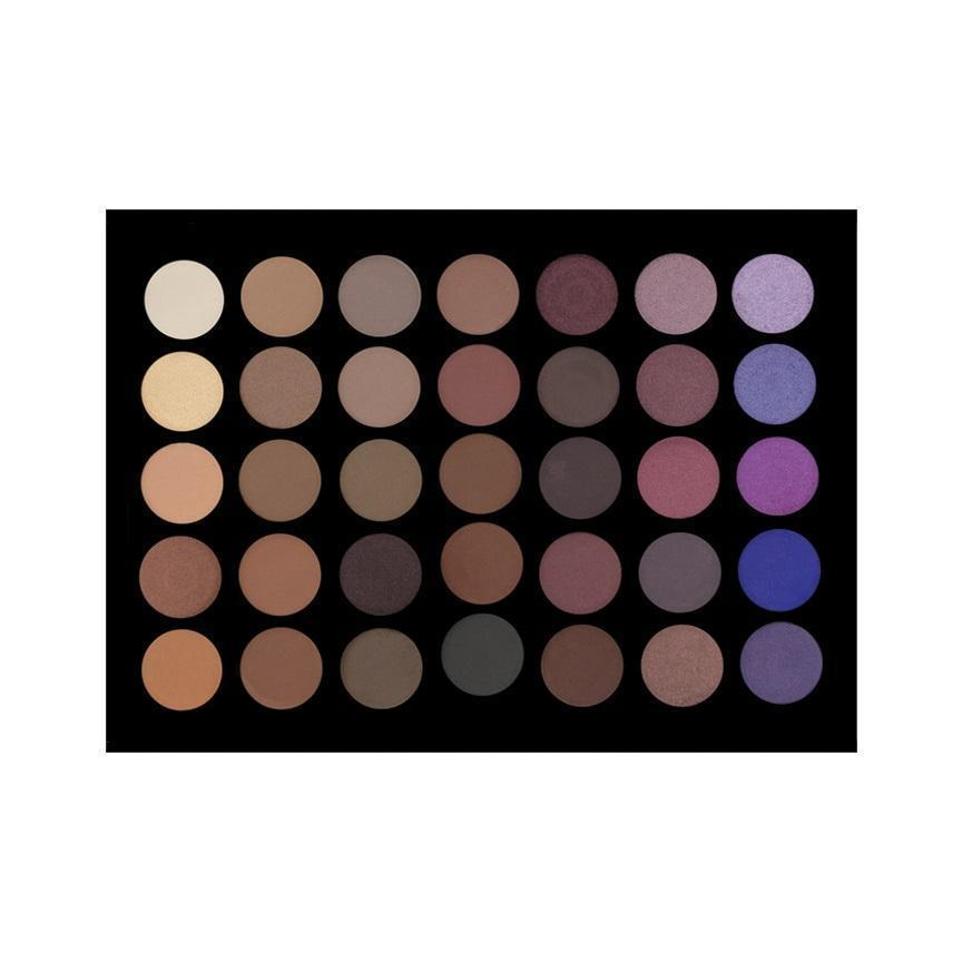 35 Colour Purple Haze Eyeshadow Palette Crownbrush