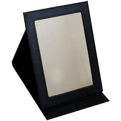 Black Folding Mirror - Large - Crownbrush