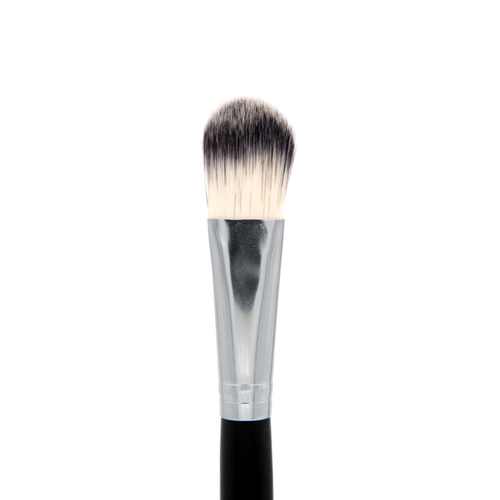 SS003 Deluxe Medium Oval Foundation Brush - Crownbrush