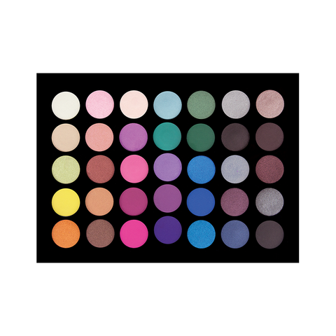 35 Colour Java Eyeshadow Palette