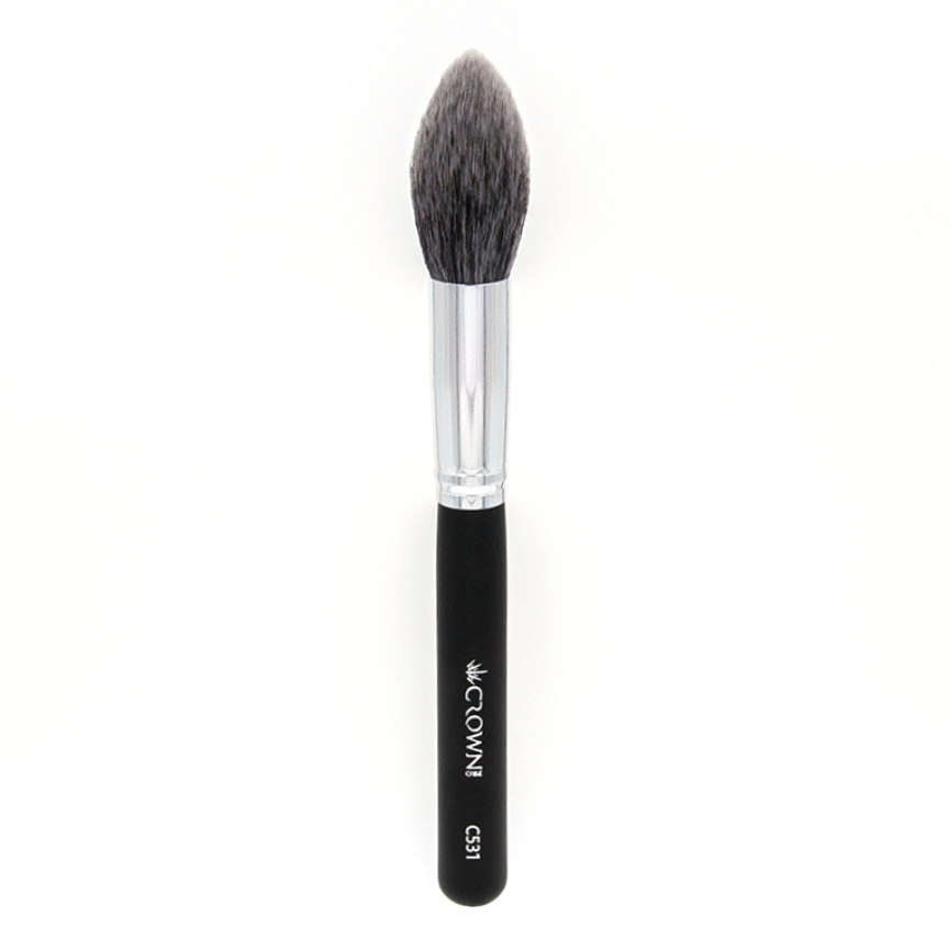 C531 Pro Lush Pointed Powder / Contour Brush - Crownbrush