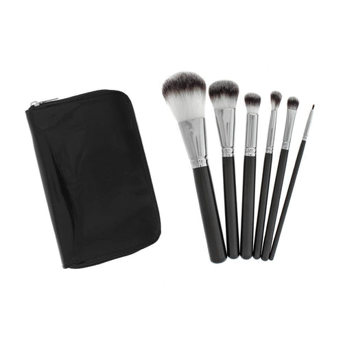 613 7pc HD Makeup Brush Set - Crownbrush