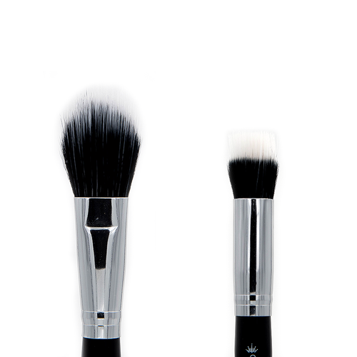 C490 Duo Fibre Blush/Blender Brush - Crownbrush