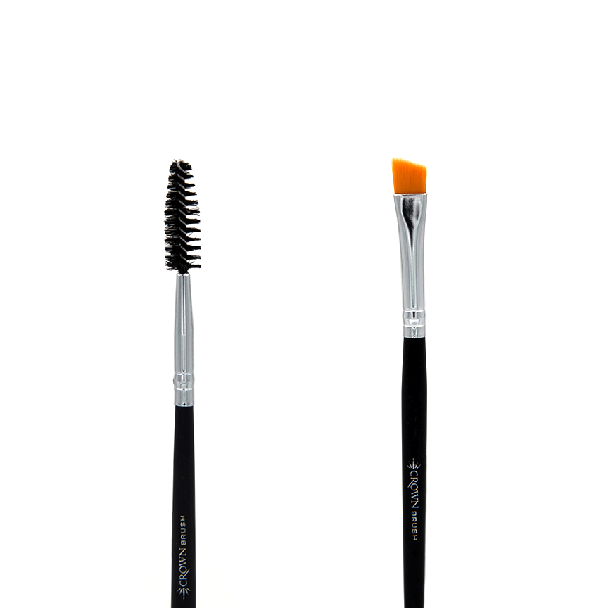 C158 Angle Liner / Spoolie Brush - Crownbrush
