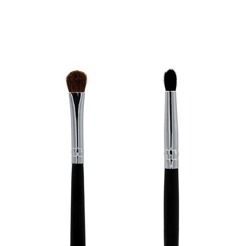 C163 Chisel Fluff / Pointed Crease Brush Crownbrush