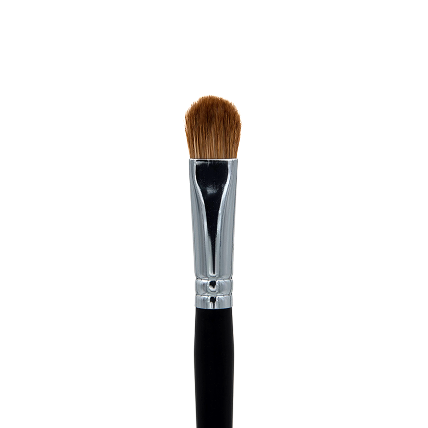 C202 Red Sable Oval Brush Crownbrush