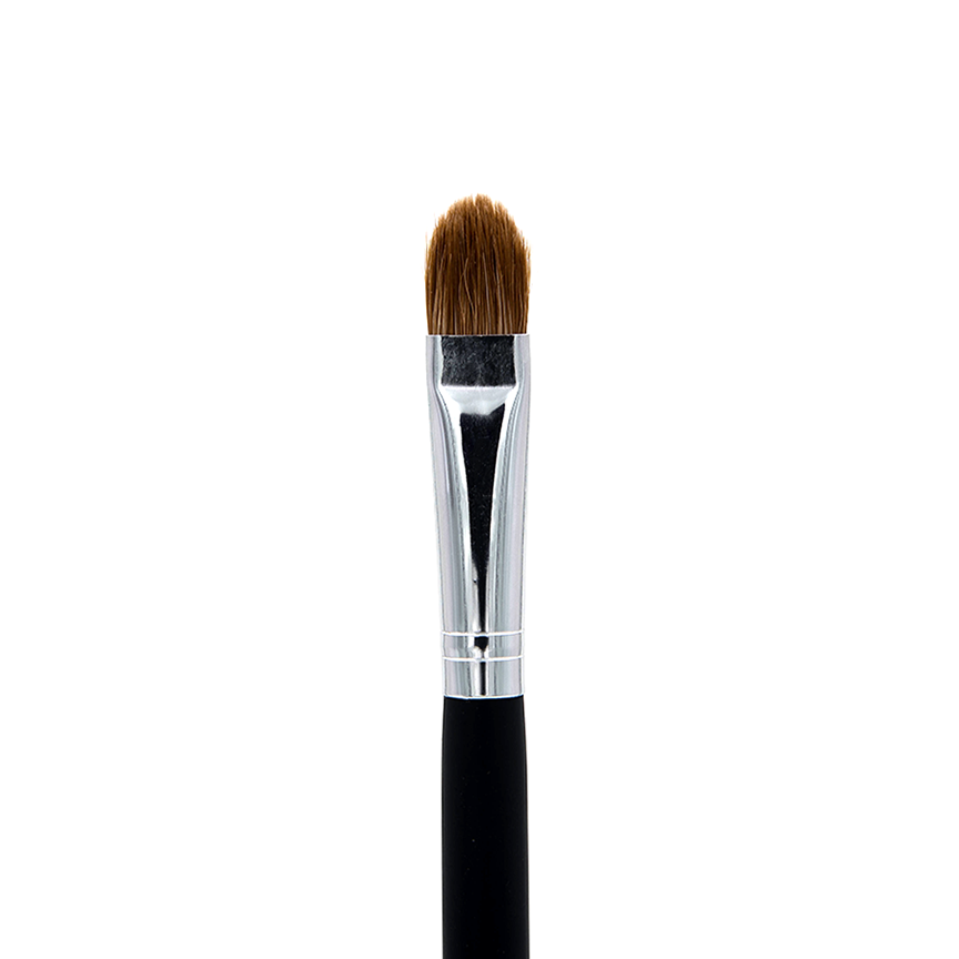 C203 Red Sable Oval Brush - Crownbrush
