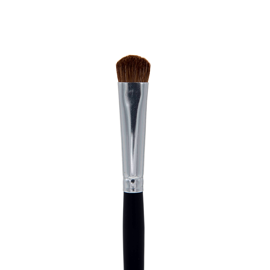 C208 Chisel Deluxe Fluff Eyeshadow Brush - Crownbrush