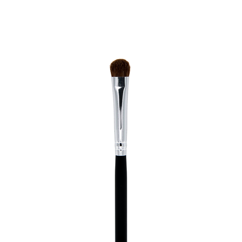 C210 Small Chisel Fluff Brush - Crownbrush