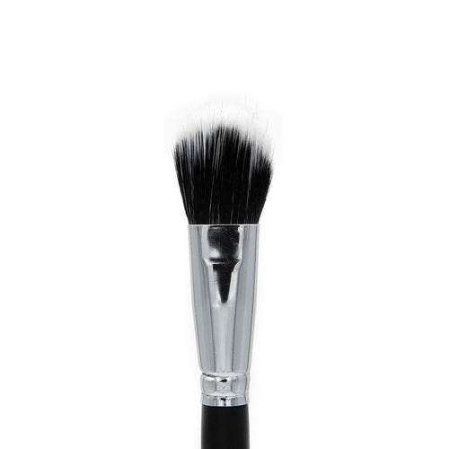 C427 Tapered Duo Fibre Blush Brush - Crownbrush