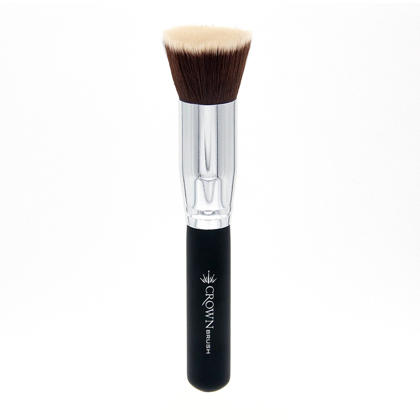 C452 Flat Foundation/Bronzer Brush - Crownbrush