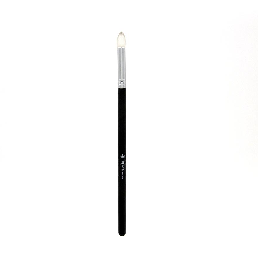 C474 Silicon Pointed Crease Brush - Crownbrush