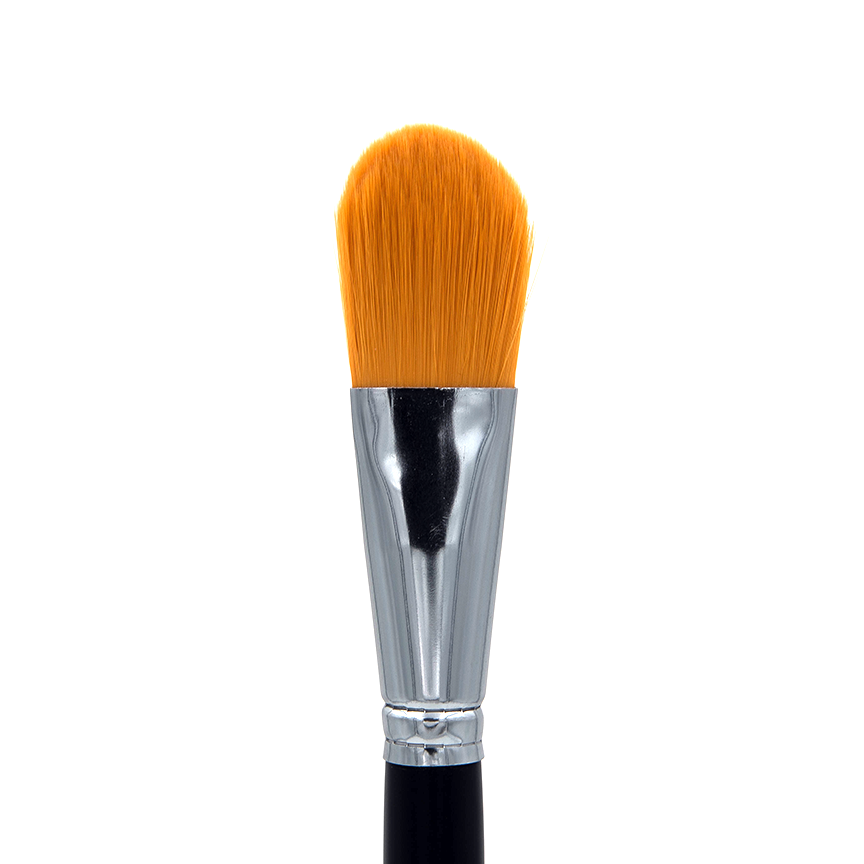 "C707-1"" Oval Foundation Brush - Crownbrush"
