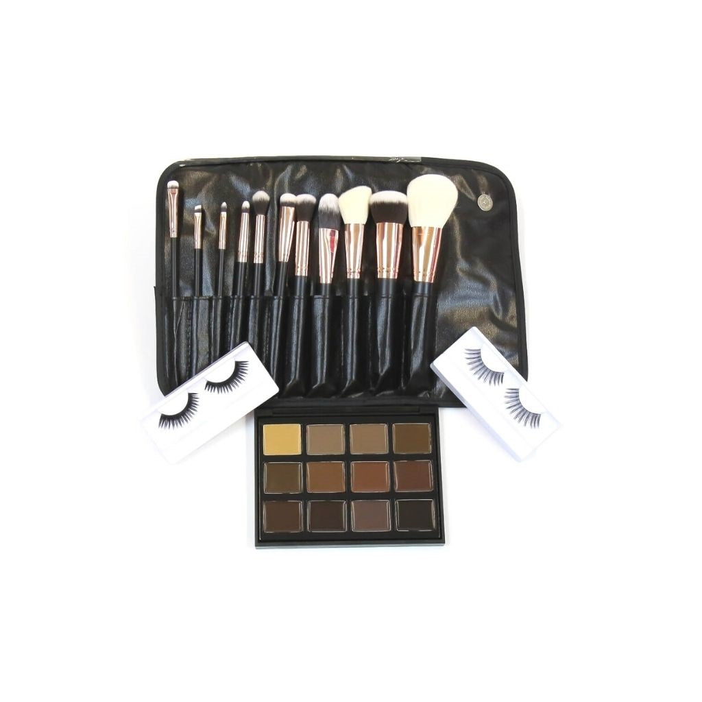 Rose Gold Gift Set - Crownbrush
