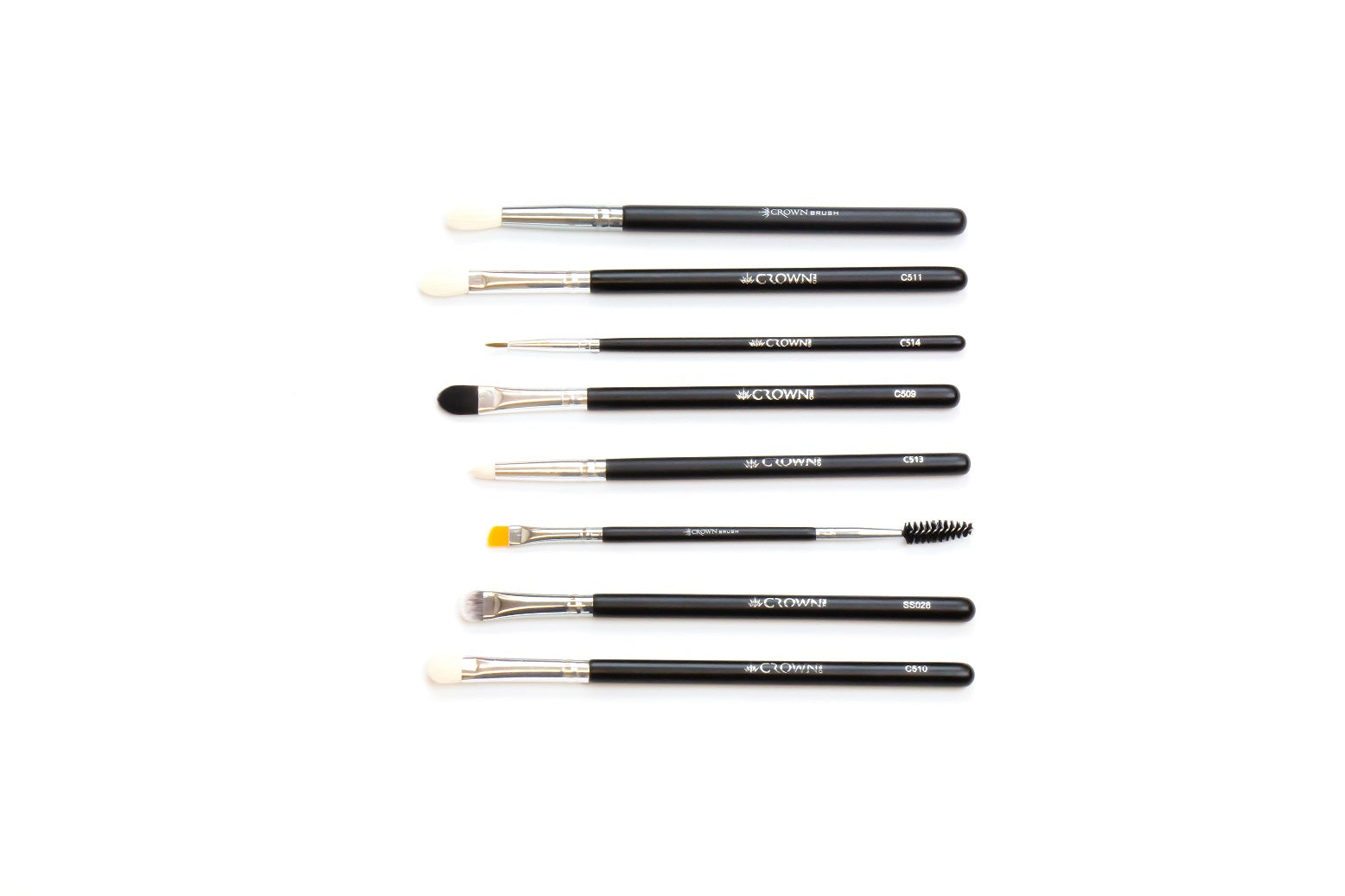 Eye Makeup Brush Set - Crownbrush
