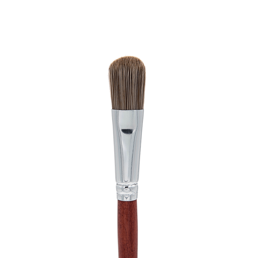 IB107 Deluxe Oval Foundation Brush - Crownbrush