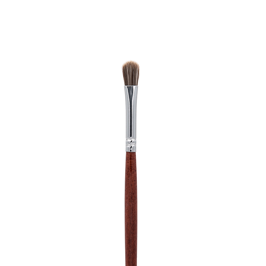 IB117 Oval Taklon Lip - Crownbrush