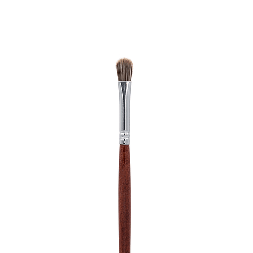 IB117 Oval Taklon Lip Brush - Crownbrush