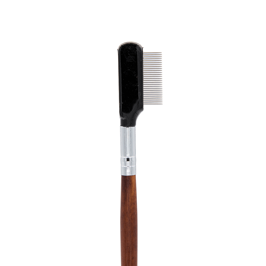 IB125 Metal Eyelash Definer Brush - Crownbrush