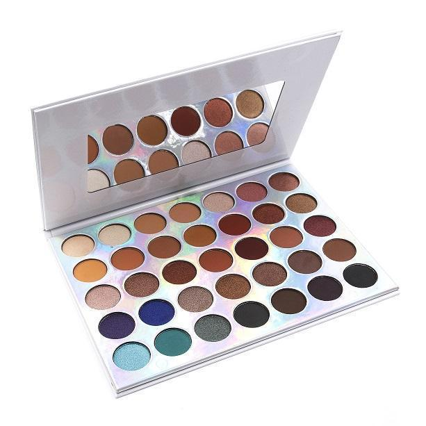 35 Colour OMG  Eyeshadow Palette - Crownbrush