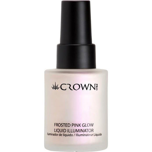 PFK140 Frosted Pink Glow Liquid Illuminator Crownbrush